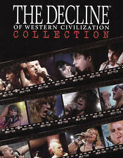 Decline of Western Civilization Collection Blu-ray 4-Disc Box Set NEW! REGION B!