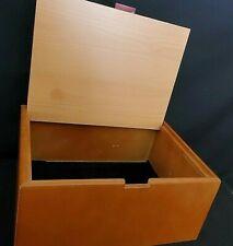 Vintage Two-Toned Cigar Box Valet Jewelry Trinket Keepsake Box Organizer