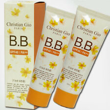 Christian Gio BB Cream UV Makeup Base Sun Block Korea SPF40/ PA ++ 50ml x 2