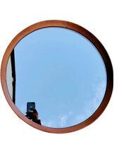 skandinavisce Spiegel aus den 60er mid Century Teak Holz