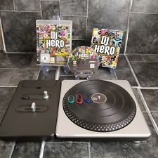 DJ Hero And Turntable - Sony PlayStation 3 PS3 - No Dongle Included