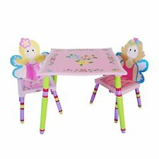 Fairy Childrens Table And Chairs Set Playroom Girls Office Bedroom Furniture