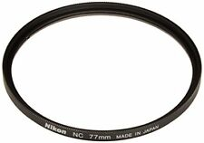 Japan Genuine Nikon 77mm Screw-on Filter Neutral Clear NC-77 Glass Filter