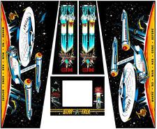 Star Trek 25th Anniversary Pinball Machine Cabinet Decals - NEXT GEN