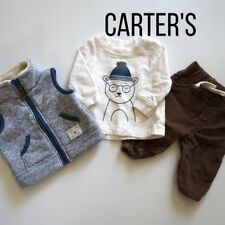 Carter's 0-3 matching set with vest