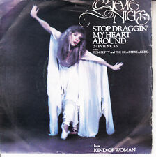 "STEVIE NICKS & TOM PETTY Stop Draggin' My Heart Around  PICTURE SLEEVE 7"" 45 NEW"
