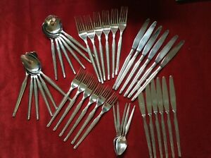 41 PIECE WILTSHIRE STAINLESS STEEL CUTLERY SET
