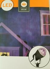 NEW Halloween LED Projector Light Projects Purple Orange Up To 20 Feet Target