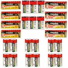 96 teiliges Camelion AA AAA Baby C Mono D 9V Batterien Paket - Plus Alkaline