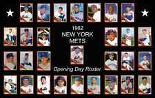 1962 New York Mets NY Team Baseball Card Poster Print Decor Fan Xmas Gift Art