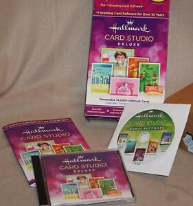 Hallmark Card Studio Deluxe 2014 ~ PC Windows ~ Greeting Card Software