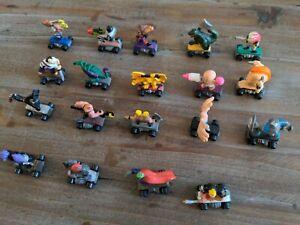 Savage Mondo Blitzers Kenner 1991 Mini Figure Vintage 90's Toy Lot of 19