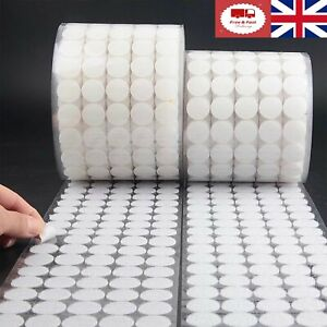 Velcro Dots 10 pairs Hook & Loop Sticky Back Dots Velcro Fasteners UK Fast&Free