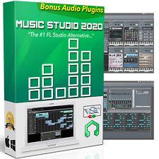 Music Pro 2020 Studio Software Audio Mix Edit & Record Plugins for Windows & Mac
