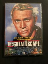 The Great Escape Steve McQueen James Garner 1963 dvd