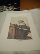 VANITY FAIR PRINT LEGAL JUDGES SET OF 8  NO1 TO NO 8 LOW POSTAGE