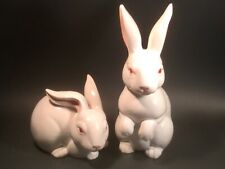 Vintage Pair of Bunnies from Fitz and Floyd Figurines