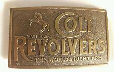 Vintage Colt Revolver Belt Buckle