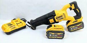 DeWALT DCS389X2 60V MAX FLEXVOLT Brushless Reciprocating Saw 2 Battery Kit USED
