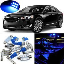 9pcs Blue LED lights interior package kit for 2011-2014 Kia Optima