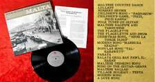LP Folk Songs and Music from Malta (Folkways FM 4047) US 1964 (+ Textbeilage)
