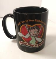 BETTY BOOP COFFEE MUG CUP CERAMIC STILL IN YOUR BIRTHDAY SUITE