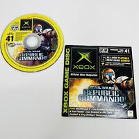 Xbox Magazine Playable Demo Disc Star Wars Republic Commando #41 TESTED WORKS