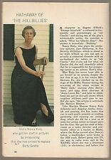 1963 TV ARTICLE~NANCY KULP is MRS JANE HATHAWAY on THE BEVERLY HILLBILLIES