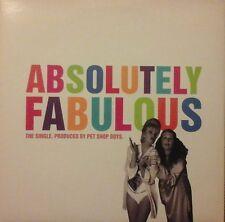 """PET SHOP BOYS - ABSOLUTELY FABULOUS 7"""" VINYL SINGLE DANCE POP 1990s EX/NM"""
