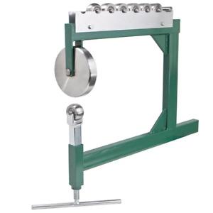 Professional Sharper Benchtop English Wheel Workbench Machine Sheet Metal New