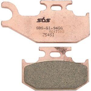SBS - 754SI - SI Sintered Brake Pads Can-Am,Yamaha,John Deere Commander 1000 XT-