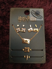 Jewellery Set Earrings Necklace Primark Official Harry Potter Hogwarts Letter