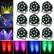 1-8PCS 90W RGB LED PAR CAN Stage Lighting DMX DJ Disco Wedding Uplighting Light