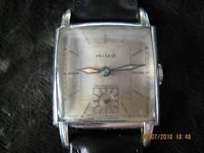 Rare MIMO-Girard Perregaux square fancy lugs wristwatch
