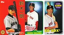 2008 Topps Trading Card History 10 card Ichiro Ellsbury