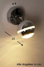 Applique à LED Design Moderne Spot Lampe murale Lampe de corridor chromée 60929