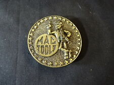 Brass Mac Tools Belt Buckle Limited Edition The Great American Buckle Co