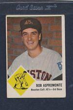 1963 Fleer #037 Bob Aspromonte Colt 45s VG *140