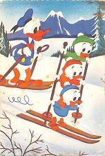 BF40837 walt disney donald duck ski  cartoon movie star