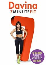 Davina 7 Minute Fit  New for 2015 [DVD]