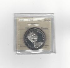 **1967**ICCS Graded Canadian Silver Dollar **SP-66 Ultra Heavy Cameo**