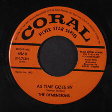 DEMENSIONS: My Foolish Heart / As Time Goes By 45 Vocal Groups