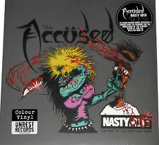 Accused / The Accüsed - Nasty Cuts Best Of Nasty Mix Yrs LP - New / Red Vinyl
