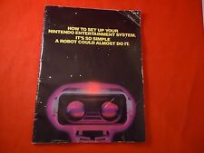 Nintendo Entertainment System NES R.O.B. Console System Instruction Manual ONLY