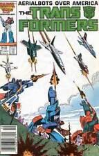 TRANSFORMERS #21 VERY FINE MARVEL COMICS (1st SERIES 1984) 1st AERIALBOTS