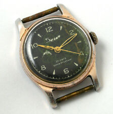 Vintage russian mechanical watch ZIM Soviet USSR  Hand painting