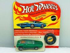 Hot Wheels Redline WHIP CREAMER HK Green WHITE INT Blister BP Carded SUPER TOUGH