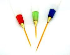 Professional Nail Art Brushes- Sable Brush Pen, Detailer, Liner and Striper HY