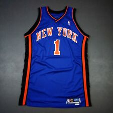 100% Authentic Penny Hardaway 2003 2004 NY Knicks Game Issued Jersey 48