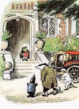 Wind in the Willows..Original Vintage Print MOUNTED 'Mr T and his Friends'